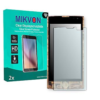 KDDI Fx0 Screen Protector - Mikvon Clear (Retail Package with accessories)