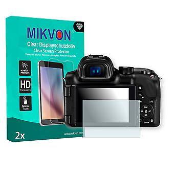 Samsung NX30 Screen Protector - Mikvon Clear (Retail Package with accessories)