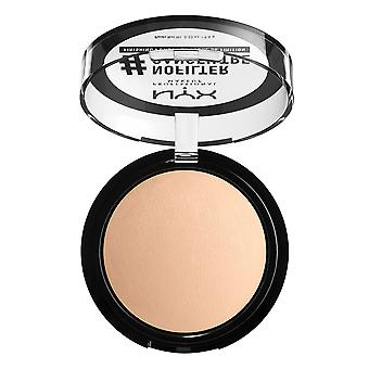 NYX Prof. Make-up Nofilter Finishing Puder hellbeige