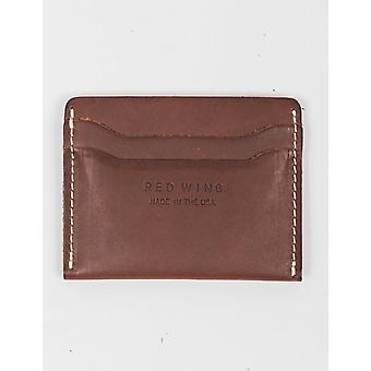 Red Wing 95034 Leather Card Holder - Amber Frontier
