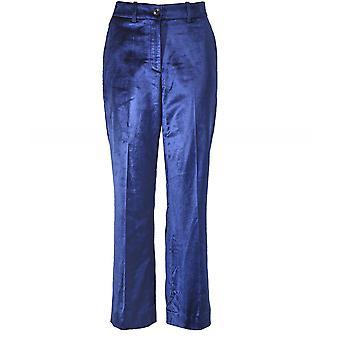 RAG og knogle Libby fløjl beskæres bukser