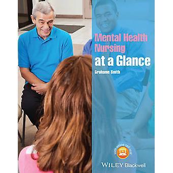 Santé mentale soins infirmiers en un clin d'oeil de Grahame-Smith - Bo 9781118465288