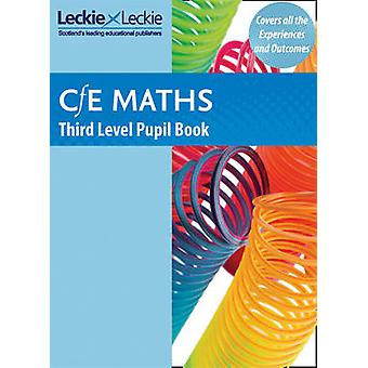 CfE Maths Third Level Pupil Book by Leckie & Leckie - 9781843729174 B