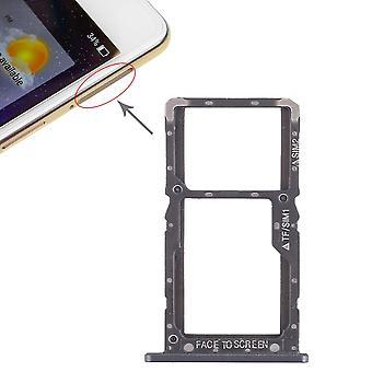 Sim Card Tray für Xiaomi Pocophone F1 Karten Halter Schlitten Holder Ersatzteil Schwarz