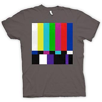 Kids T-shirt - TV Technical Screen 80s Retro