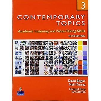 Sujets contemporains 3: Les compétences académiques et de la prise de notes (avancés)