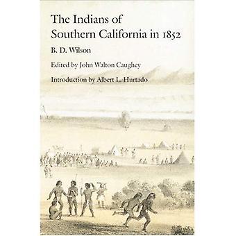 Los indios del sur de California en 1852