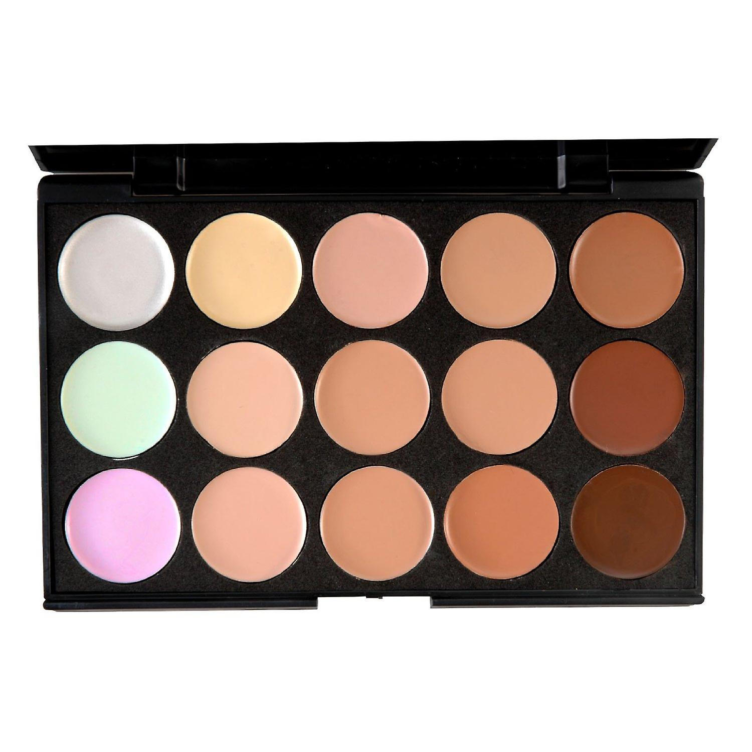 15 Colours 3D Radiance Concealer Palette Set