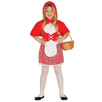Dziewczyn Little Red Riding Hood Fancy Dress kostium