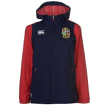Canterbury Womens British And Irish Lions Full Zip Rain Jacket Ladies