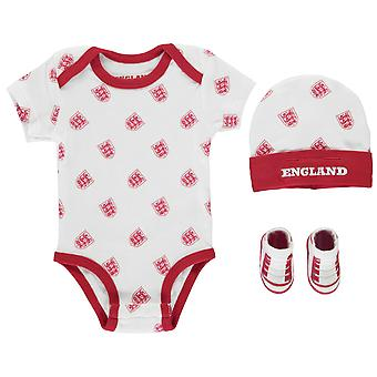 England Baby All Over Pattern 3 Piece Set