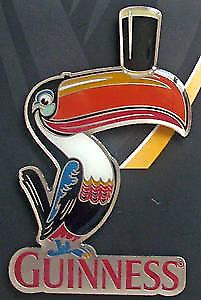 Guinness Toucan die cut heavy metal fridge magnet   (sg)