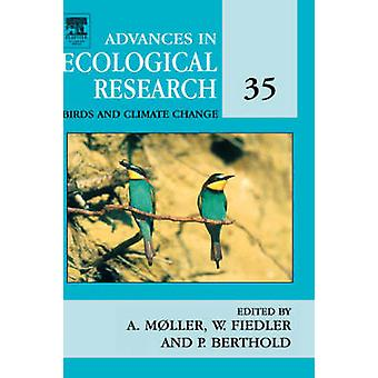 Fåglar och klimatförändringar genom Moller & Anders & P
