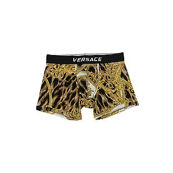 Versace Leopard Viscose Boxer