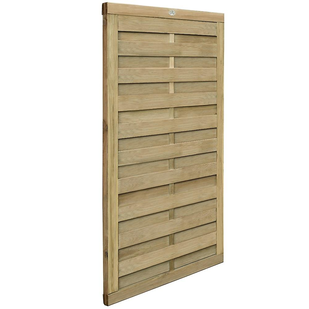 Forest Garden 6ft Hit and Miss Europa Plain Wooden Gate