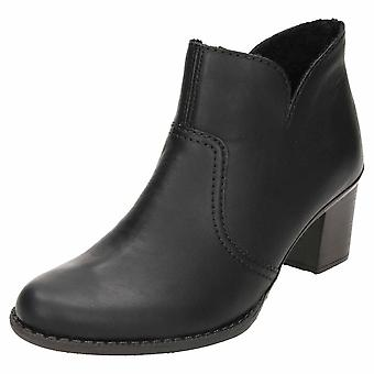 Rieker Mid Heel Ankle Boots L7688-01
