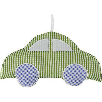 Childrens Heatable Cotton Cherry Pit Pillow: Car