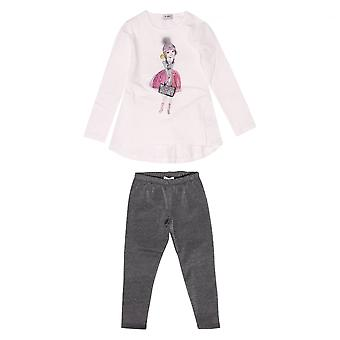 Byblos Kids Completo Baby Top And Leggings