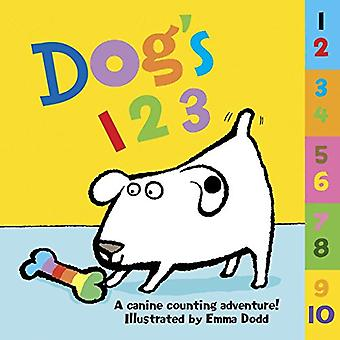 Dog's 123: A Canine Counting Adventure! [Board Book]