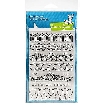 Lawn Fawn Simply Celebrate Clear Stamps (LF1599)