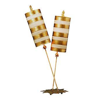 Nettle Luxe guld bordslampa