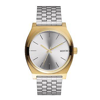 Nixon The Time Teller Gold Silver Silver (A0452062)