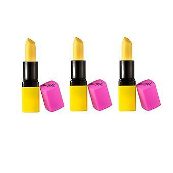 Barry M 3 X Barry M Colour Changing Lip Paint - Unicorn