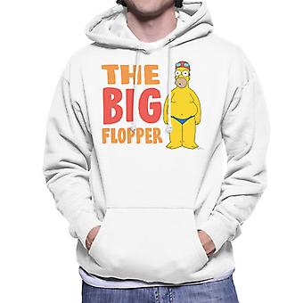 The Simpsons The Big Flopper Men's Hooded Sweatshirt