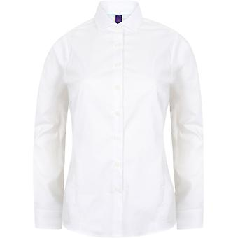 Henbury - Women's Ladies Long Sleeve Stretch Shirt