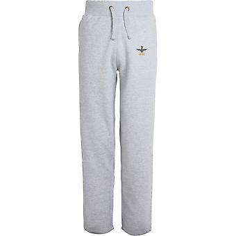 Parachute Regiment SFSG - Licensed British Army Embroidered Open Hem Sweatpants / Jogging Bottoms