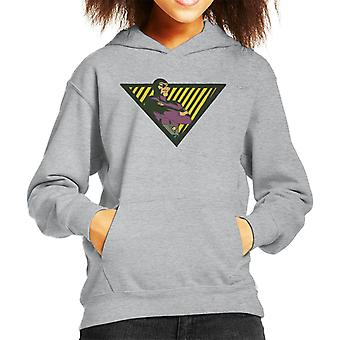 The Phantom Triangle Hero Kid's Hooded Sweatshirt