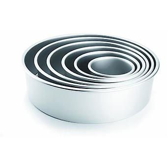 Ibili Round mold Recto Extra High 10X10 Cm (Kitchen , Bakery , Molds)
