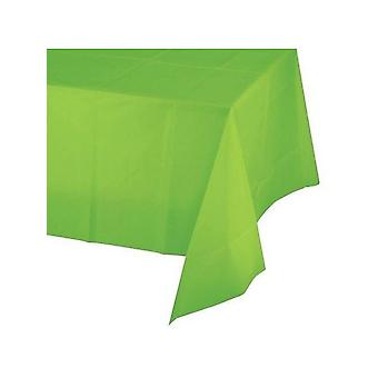 Lime Green Plastic Tablecloth