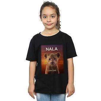 Disney Girls The Lion King Movie Baby Nala Poster T-Shirt