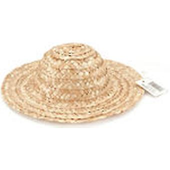 Round Top Straw Hat 8