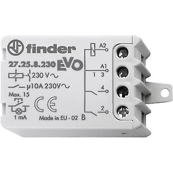 Finder 27.26.8.230.0000 10A Step Relay 27.26.8.230.0000 EVO 230 Vac DPST-NO 10 A Max 230 Vac (AC1) Max 2300