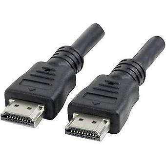 HDMI Cable [1x HDMI plug - 1x HDMI plug] 22.50 m Black Manhattan