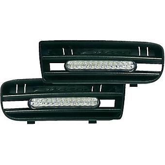 Daytime running lights LEDs Compatible with (car make) Volkswagen DINO 610850 Feu de jour LED VW Golf 4