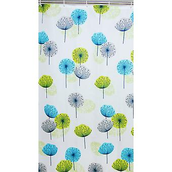 Dandelion Polyester Shower Curtain 180 x 180cm