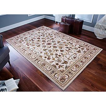 Royal Classic  636W Shades og ivory, beige and yellow Rectangle Rugs Traditional Rugs