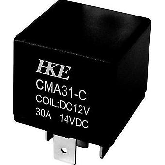 Automotive relay 12 Vdc 30 A 1 change-over HKE