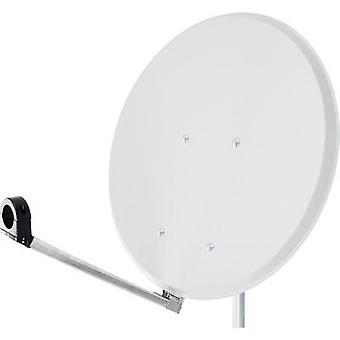 SAT antenna 55 cm Smart Click-Clack Reflective material: Steel White