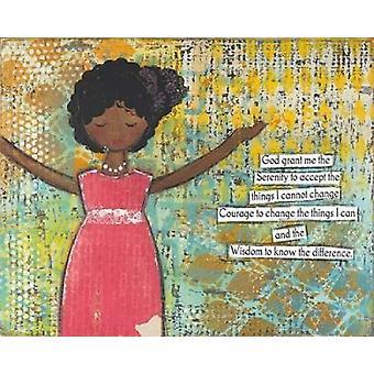 Serenity bønn Poster trykk av Cassandra Cushman