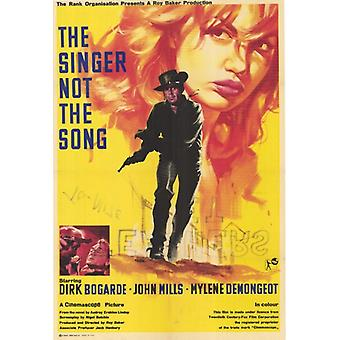 Singer Not The Song Movie Poster Print (27 x 40)
