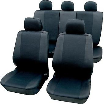 Seat covers 11-piece Petex 26174802 Sydney Polyester Graphite