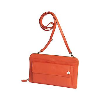Dr Amsterdam shoulder bag Mint Tangerine Tango Orange