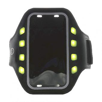 GEAR Sportarmband LED L Universal iPhone6 Black