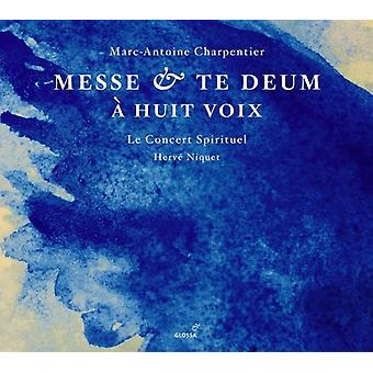 Le koncert spirituelt - Charpentier: Messe; Te Deum [SACD] USA importerer