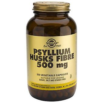 Solgar Fiber Psyllium Cascara 200Cap (Vitamins & supplements , Fibres)