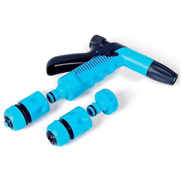 Garden Hand Spray 4 Piece 3/4'' Hose Connector Nozzle Set